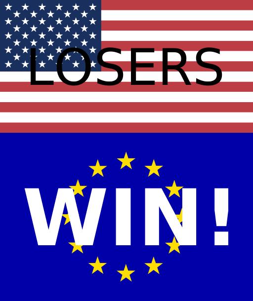 USA: Losers; Europe: WIN!